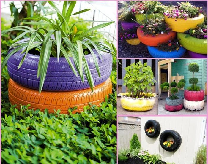 Креативные идеи для сада и дома своими руками